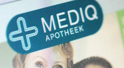Rechter hakt in op Mediq-logo