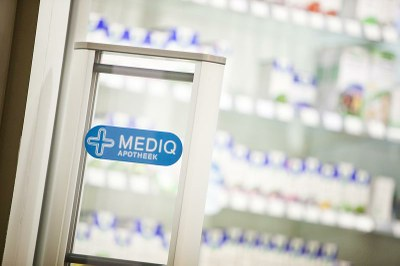 Harde klappen voor apotheken van Mediq