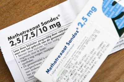MTX zinloos bij artritis psoriatica