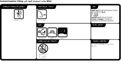 FIP ontwerpt Arabische pictogrammen voor vluchtelingen