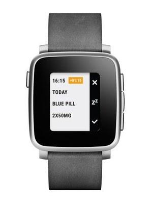 Smart watch helpt tiener met pillen slikken