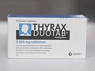 Stap vanaf 100 mcg Thyrax over op lagere dosis alternatief