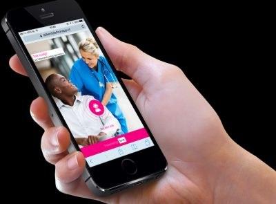 Tolk 'op zak' met app voor zorgverlener