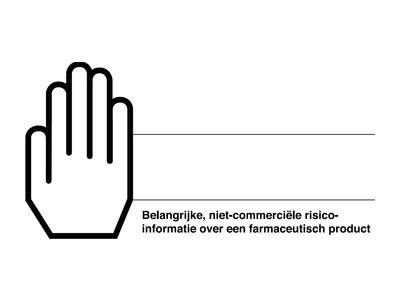CBG introduceert envelop met witte hand