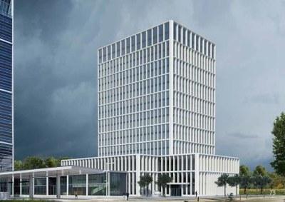 Hoogste punt bereikt nieuwe EMA-gebouw in Amsterdam