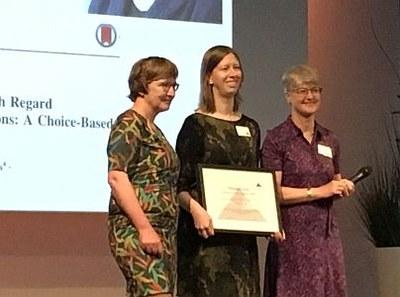 Opwijrda-prijs 2018 voor onderzoek ciprofloxacinedoseringen