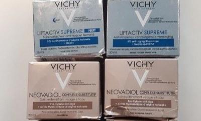 Politie zoekt apotheken die Vichy-producten missen