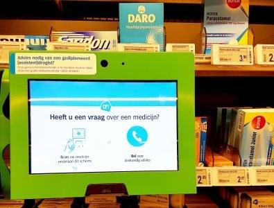 Rechter: tablet mag drogist vervangen