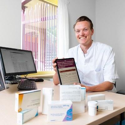 App helpt patiënt met inname